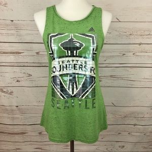 NWT Adidas Seattle Sounders MLS Soccer Tank Top